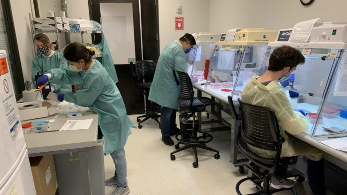 Huntsville lab increases staff, equipment to keep up with increase in demand for coronavirus testing