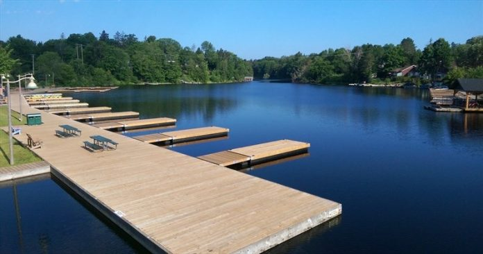 Huntsville waterfront 'spectacular now' as Pipefusion boosts docks with donation