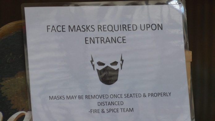 Huntsville restaurant owner loses some business due to mask ordinance