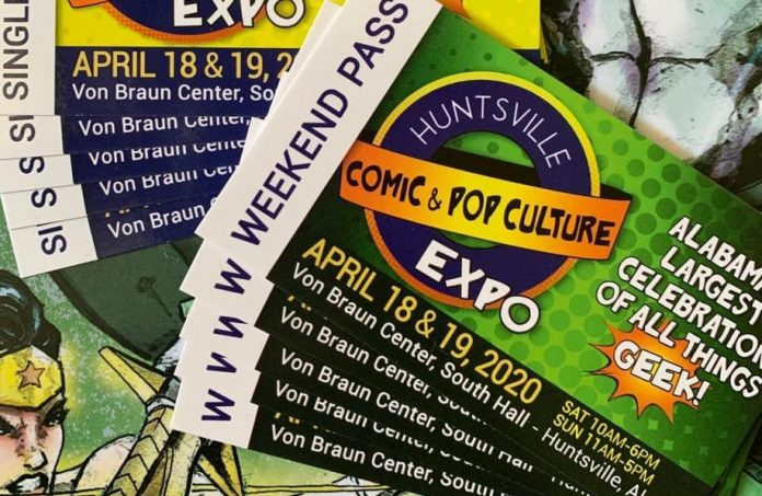 Huntsville Comic and Pop Culture Expo returns to the VBC with social distancing in mind