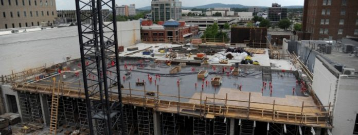 Downtown Construction Continues Despite Pandemic