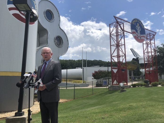 Sessions vows to protect north Alabama economy, says Tuberville 'not ready' for Senate