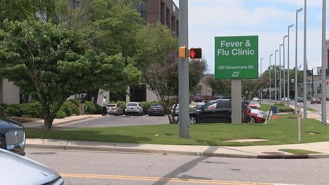 Huntsville Hospital: 'System overload' delaying coronavirus test results.