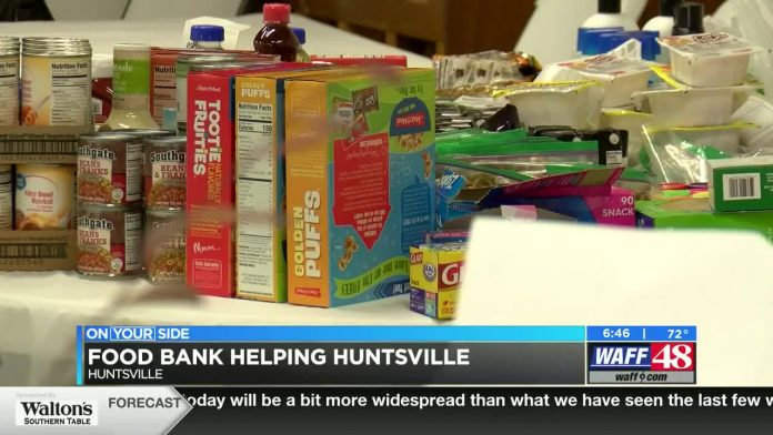Huntsville Helping Hands serves thousands through temporary food bank