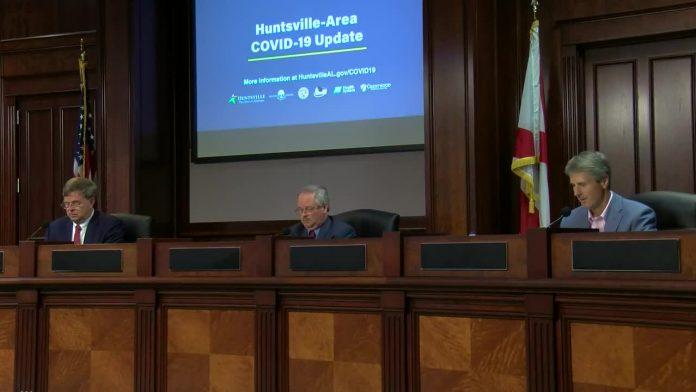 Huntsville to re-open John Hunt Park drive-up testing next week; mandatory mask order being discussed
