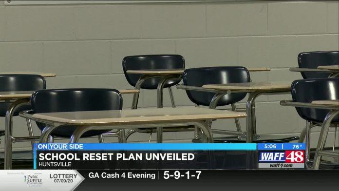 """Huntsville City Schools present """"Reset Plan"""""""