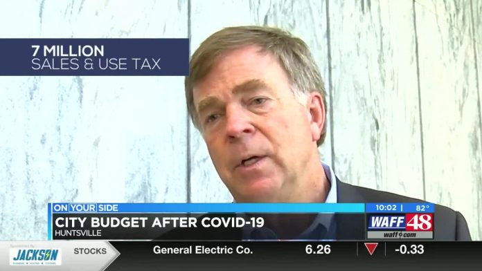 Huntsville mayor says he has a plan for making up loss due to COVID-19