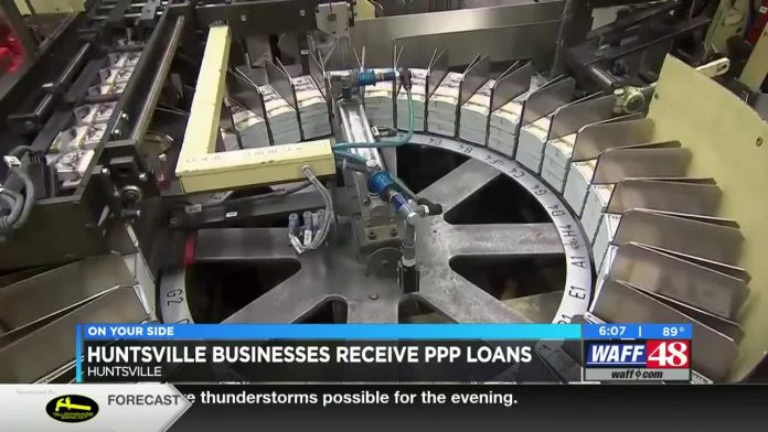 Millions of PPP money loaned to thousands of Huntsville businesses