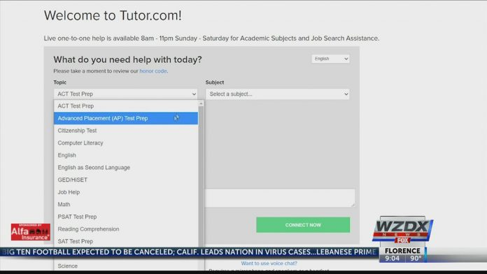 Free online tutors available for Huntsville and Madison County students