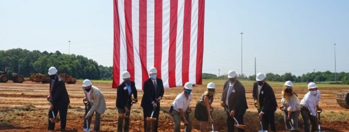 Mission and Vision: Region's Largest Spec Industrial Facility Breaks Ground
