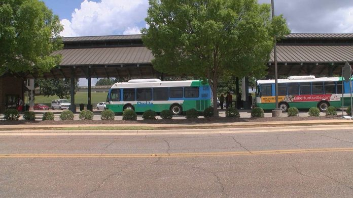 City of Huntsville gets $12.5 million to improve bus system