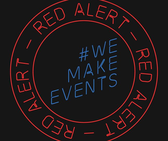 #WeMakeEvents #RedAlertRESTART To Light 1,500 Buildings In Red On August 27