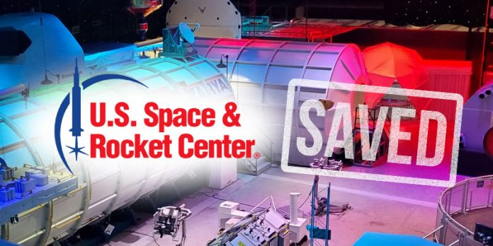 Space and Rocket Center saved by public support