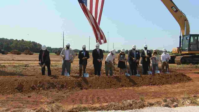 Groundbreaking ceremony held for new Tanner industrial facility
