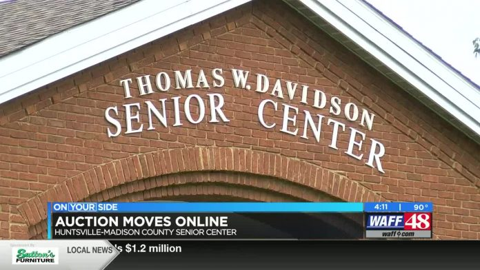 Huntsville-Madison County Senior Center auction moves online