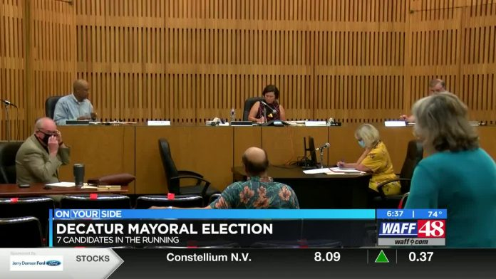 Seven candidates face off in Decatur mayoral election