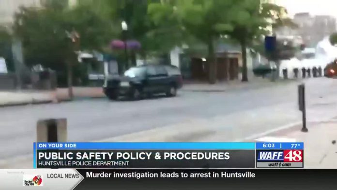 Huntsville police release report on community suggestions following protests