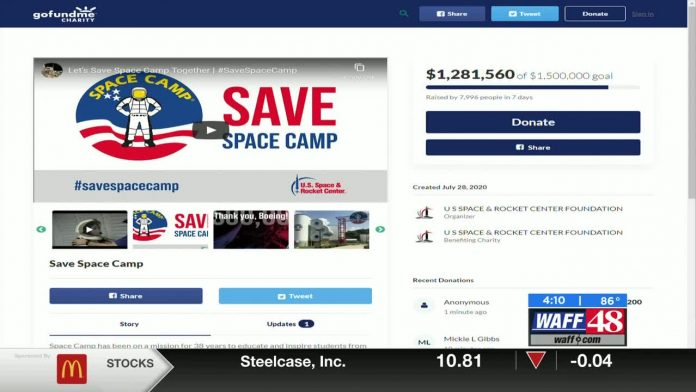 US Space & Rocket Center reaches fundraising goal