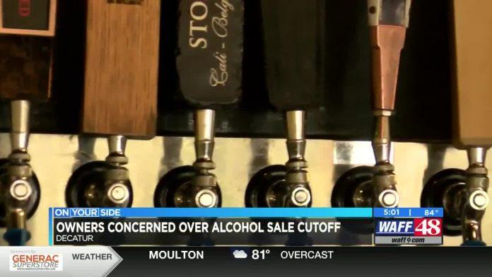 Saturday marks first night of earlier last call at Alabama bars