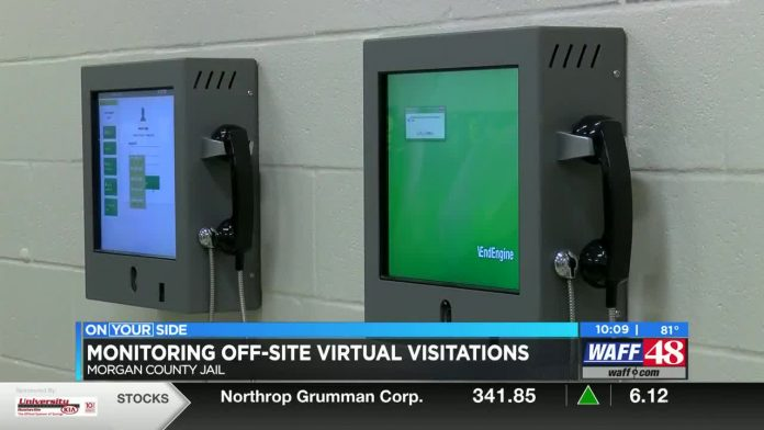 Morgan Co. Sheriff's Office uses security measures during off-site visitation