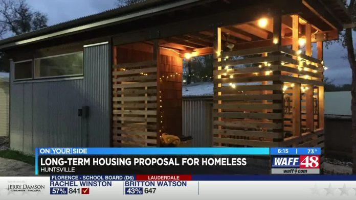 The Huntsville Community of Hope plans housing development for homeless