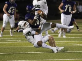 FOOTBALL: Huntsville escapes Montgomery with share of district title