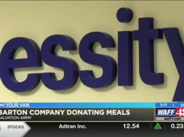 A company in Barton donated Thanksgiving over 1,000 meals to it's employees