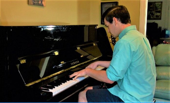 J.D. Willis plays piano 24 hours nonstop for United Way fundraiser