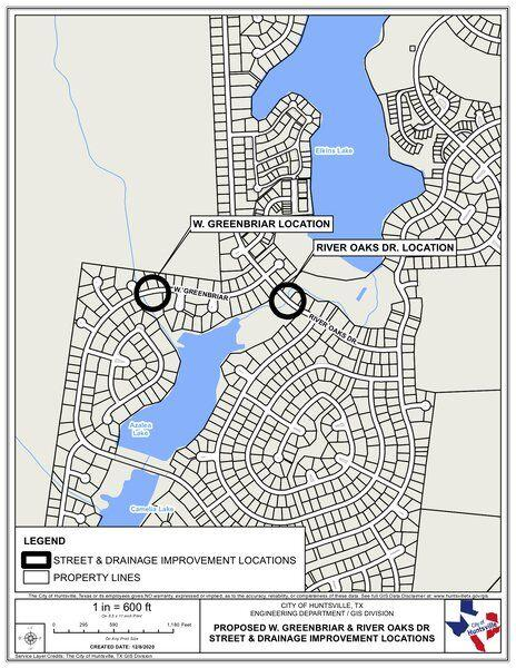 Huntsville plans $1.9M in flood-control projects at Elkins Lake
