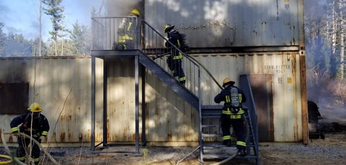 Live fire training keeps department's skills sharp