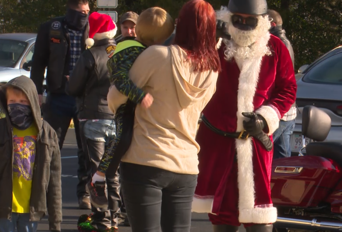 Downtown Rescue Mission receives Christmas bears from Huntsville bikers