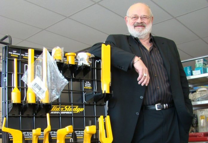Sudbury inventor of patented miner's adjustable wrench dies