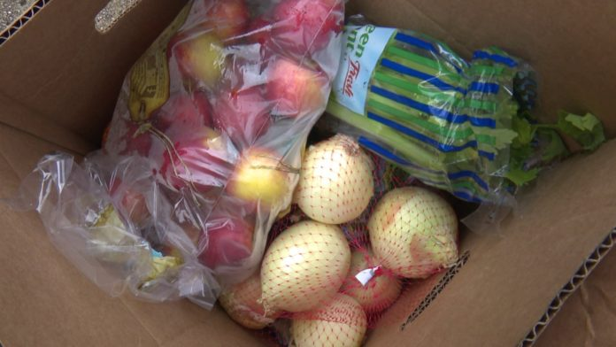 Free food box giveaway scheduled in Huntsville