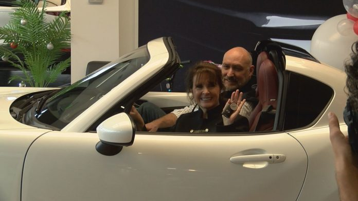 Huntsville woman gifted new car after being Mazda Hero for her community service