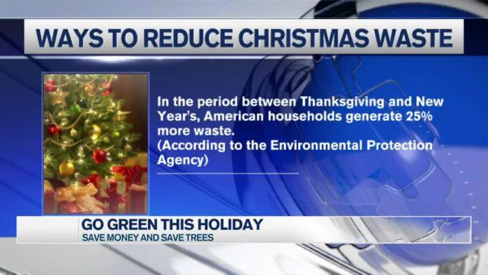 Ways to reduce Christmas waste