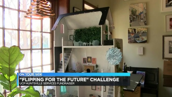 """Flipping for the Future"" dollhouse renovation challenge, UCP Huntsville"
