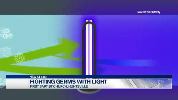 First Baptist Church of Huntsville awaiting UV-C light installation to kill bacteria