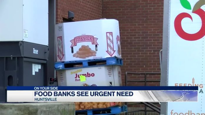Food banks in need during holiday season