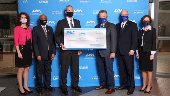 SAIC continues to support the UAH College of Business with $100K gift