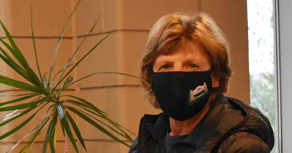 Town of Huntsville branded masks a hit with community