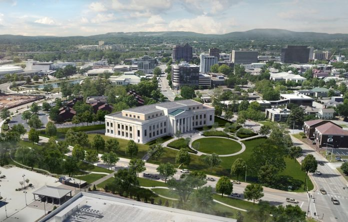 New pictures show Huntsville's federal courthouse plan