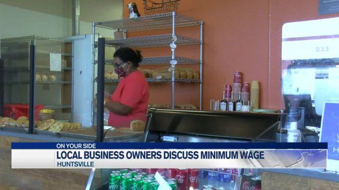 Local businesses discuss minimum wage proposal