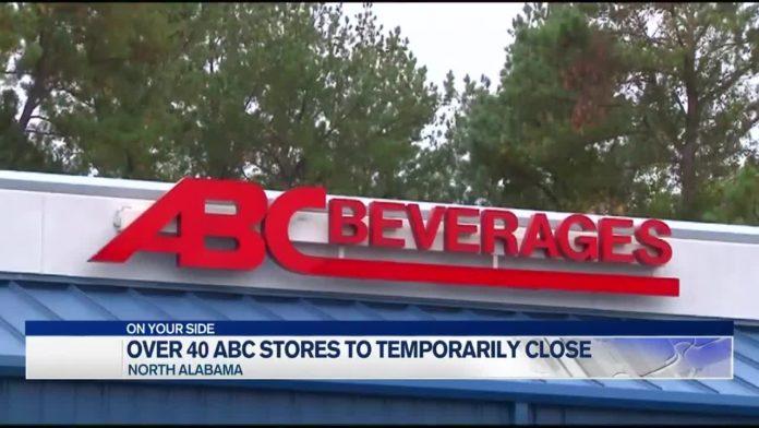 41 Alabama ABC stores to temporarily close Saturday