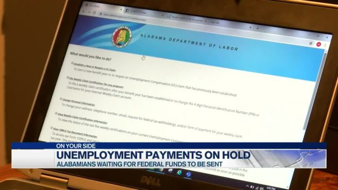 Unemployed Alabamians awaiting funds from new stimulus package; some accounts at zero