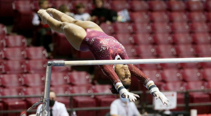 SEC gymnastics championship moves from New Orleans to Huntsville
