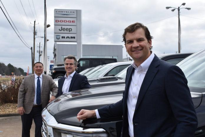 Bill Penney takes over CDJR, Ford in Jasper