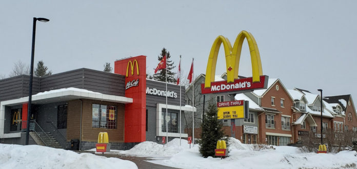 COVID case confirmed at McDonald's on King William St.