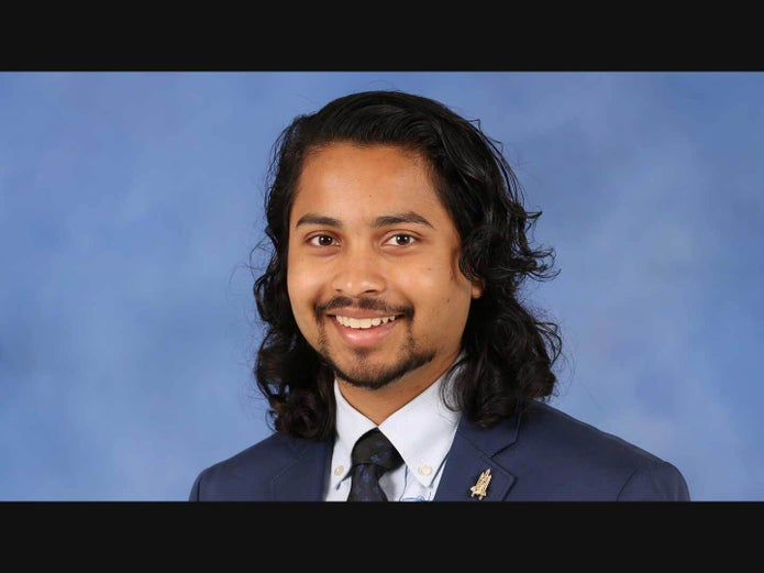 UAH Student Alay Shah Selected For Matthew Isakowitz Fellowship
