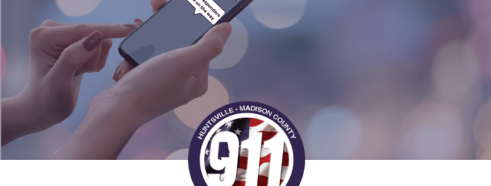 Huntsville-Madison County Launches Text-to-911 Service