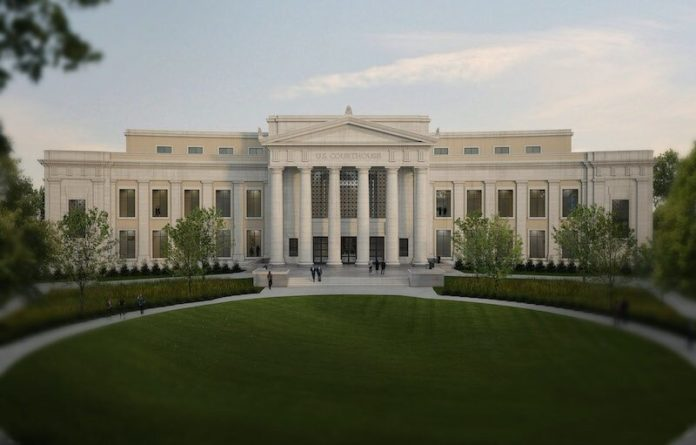 Design unveiled for federal courthouse in Huntsville, Ala.